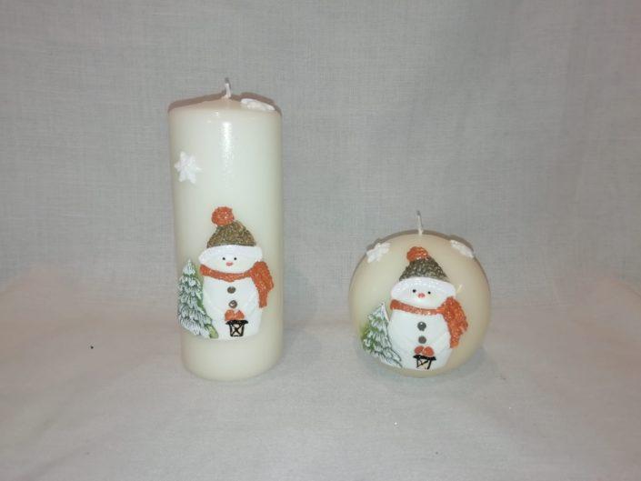 candele per natale
